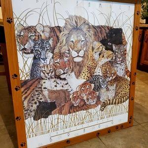 Feline Species Art